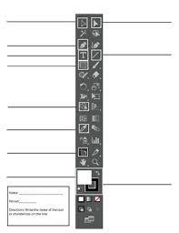 Adobe Illustrator Cc 2017 Tools Panel Test By Rosalia Marzullo Tpt