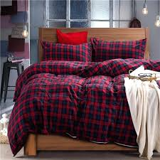 red green blue plaid winter flannel duvet bedding set in cover prepare 2 comforter cuddl duds