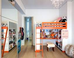 floor desk for kids inspired loft bed with desk underneath in kids contemporary with bunk beds floor desk for kids