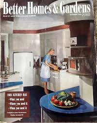 Better Homes And Gardens Kitchen October 1945 Better Homes Gardens Vintage Cards Magazines