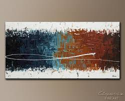 large wall paintingsWall Art Painting Good Feeling  Home Dcor Abstract Art  Large