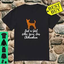 Panel Shirt Design Ladies Just A Girl Who Loves Her Chihuahua Cute Dog Mandala Shirt