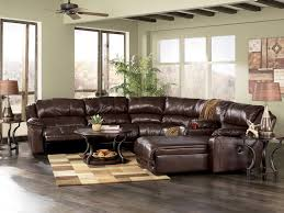 ashley furniture braxton java leather c shape sectional