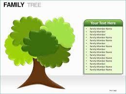 Powerpoint Templates Family Artistic Family Tree Powerpoint