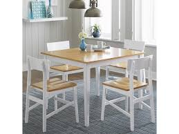 Progressive Furniture Christy Casual Dining Table With Two Tone