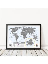 <b>Карта мира</b> со <b>скретч</b> слоем True Map Plus BADLAB 3821514 в ...