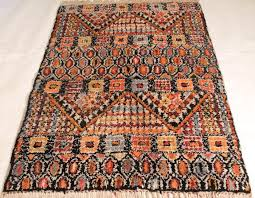 beautiful antique oriental berber rug nomadic work from 1950s 130x170cm made in