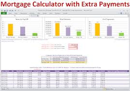 Early Mortgage Payoff Calculator Spreadsheet New Wineathomeit Early