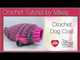Free Crochet Dog Sweater Patterns Amazing Crochet Simple Dog Sweater YouTube