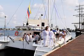 Catamaran Maxicat Cartagena Boda Matrimonio Wedding  David Ucros Eventos y TurismoSAS