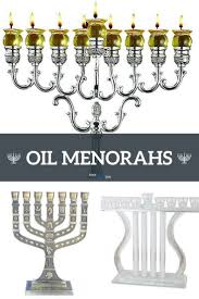 best oil menorahs oil burning candelabra for an authentic hanukkah 2017 amen v amen