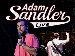 adam sandler and rob schneider stop at the taft theatre in april