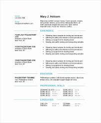 Phlebotomy Resume 16069 Allmothers Net