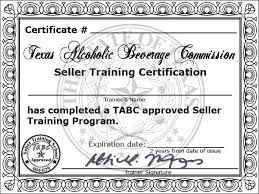 On template The Fly Tabc Certificate -