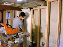 Insulating Basement Walls HGTV - Insulating block walls exterior