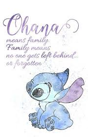 Ohana Means Family Quote Stunning Ohana Means Family Family Means Nobody Gets Left Behind Or Forgotten