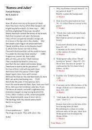 romeo and juliet essay cheat sheet romeo and juliet examination sparknotes romeo and juliet