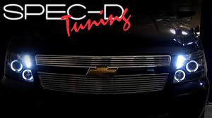 SPECDTUNING INSTALLATION VIDEO: 2007 & up CHEVY AVALANCHE ...