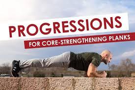Progressions For Core Strengthening Planks