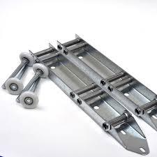 garage door track bracket. Garage Door Low Headroom Quick Turn Brackets (Pair) W/ Rollers Track Bracket