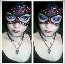 spiderman makeup mask costume makeup s facebook