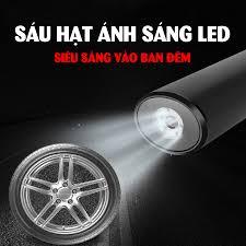 Máy bơm lốp ô tô xe hơi cầm tay mini di động CAR365 CHÍNH HÃNG dùng pin sạc  thông minh cao cấp - CAR33 - Dụng cụ, thiết bị sửa ô tô