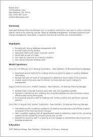Business Resumes Business Management Resume Tomyumtumweb 75
