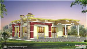 Small South Indian Home design   Kerala home design and floor plansView View