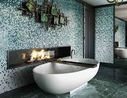 luxury bathrooms. Mosaic And Accent Walls For Luxury Bathrooms
