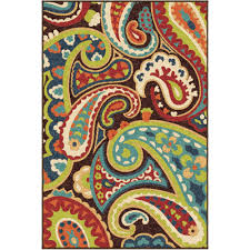 orian rugs bright colors paisley monteray area rug or runner com