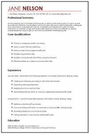 Simple Cv Examples Uk Simple Cv Sample Myperfectcv
