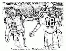 Small Picture Download Coloring Pages NFL Coloring Pages All Nfl Coloring Pages