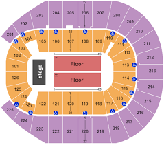Jeff Dunham Tickets Seating Chart Verizon Arena End Stage