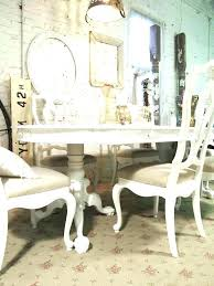 dining tables shabby chic dining table small kitchen white round