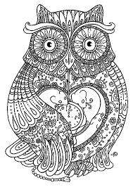 Special Owl Color Sheet Fresh Mandala Coloring Pages Design