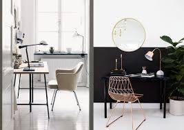 office decor inspiration. Monochrome-scandinavian-office-decor-inspiration-3 Office Decor Inspiration N