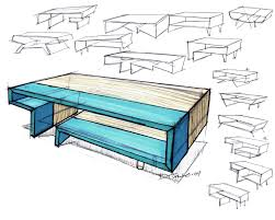 table design sketches. Wonderful Table Furniture By Michael DiTullo At Coroflotcom In Table Design Sketches A
