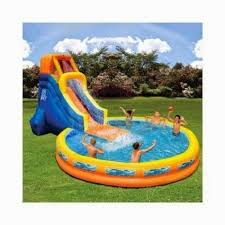 inflatable above ground pool slide. Water Slides Inflatable Above Ground Pool Slide