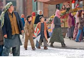 review hosseini s dry eyed kite runner yields mushy movie sfgate this undated handout photo provided by paramount shows zekiria ebrahimi center left and ahmad