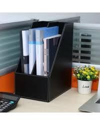 home office black desk. 2-Compartment PU Leather Home Office Desktop Tabletop Document \u0026 File  Organizer Rack / Magazine Home Office Black Desk