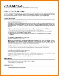 8 examples of resume summary resume reference example of a summary for a resume