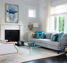 Pleasing Blue And Silver Living Room Designs Spectacular Silver And Blue Living Room