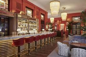 Bloomsbury Theme Interior Design The Coral Room A Vibrant Grand Salon Bar Designed By Martin