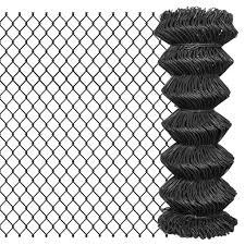 Maschendrahtzaun 15 X 1 M Stahl Grau Gitoparts
