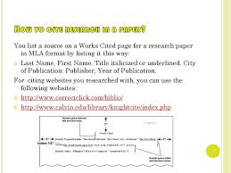 Mla Format By Mayra Felix Ppt Download