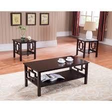 Three Piece Living Room Table Set Red Barrel Studio Carewe 3 Piece Coffee Table Set Reviews Wayfair