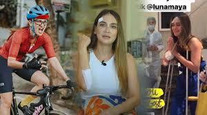 She started her career as an advertising and catwalk model. Luna Maya Jatuh Dari Sepeda Pelipis Diperban Dan Tangan Dapat 5 Jahitan Berikut Kronologinya Tribunnewsmaker Com