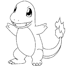 Small Picture Pokemon Charmander Pokemon Coloring Pages Pinterest Pokemon