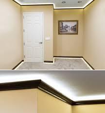 beauteous led crown molding accent lighting home office st louis