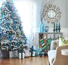 BLUE  TEAL  TURQUOISE CHRISTMAS IDEAS  Blue Christmas Tiffany Blue Christmas Tree Ideas